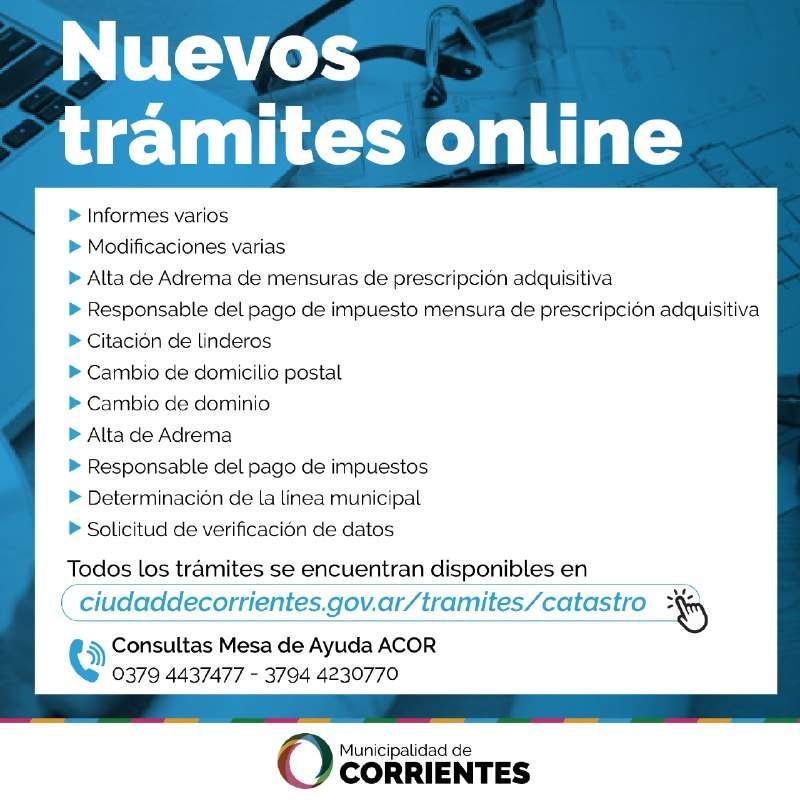 Simplificación de servicios: trámites de Catastro, online