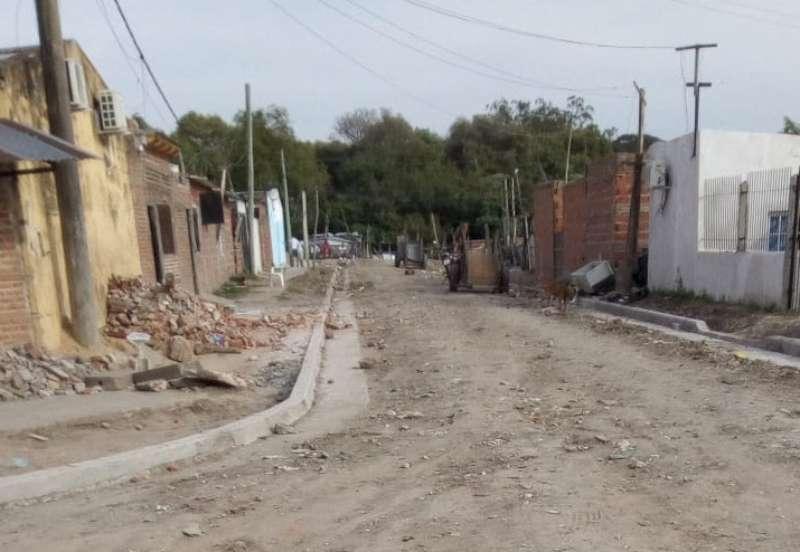 La Provincia ya lleva construidos casi 2.000 metros de cordón cuneta