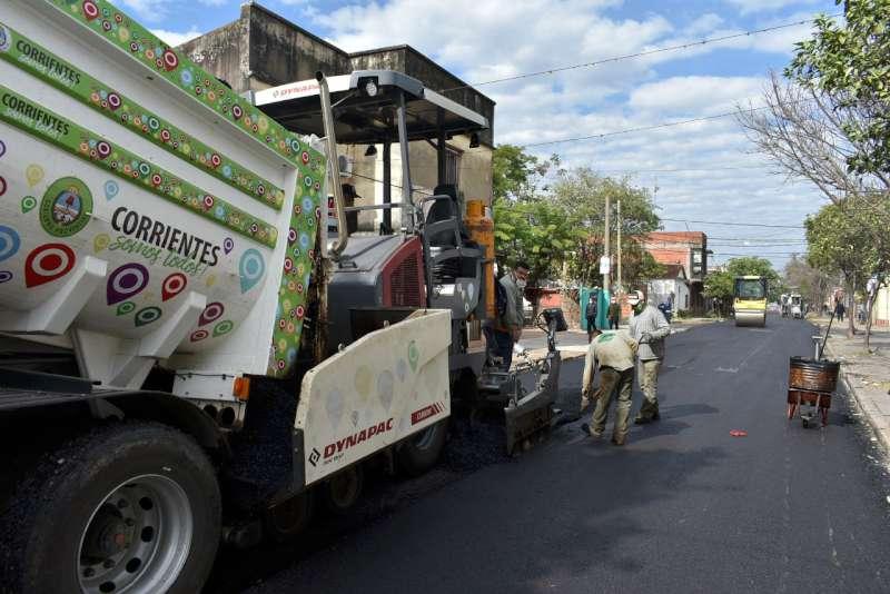 Vialidad Urbana concluye calle Roca y repavimenta las cuadras que demarcan la plaza Libertad