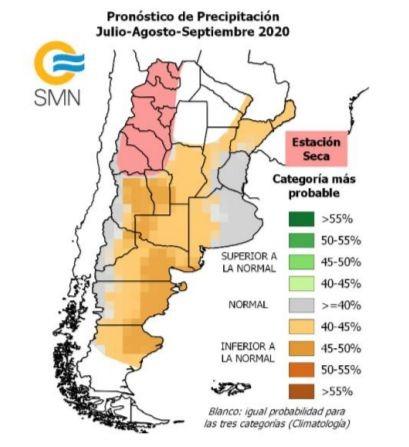 Informe Especial SMN pronóstico próximos días