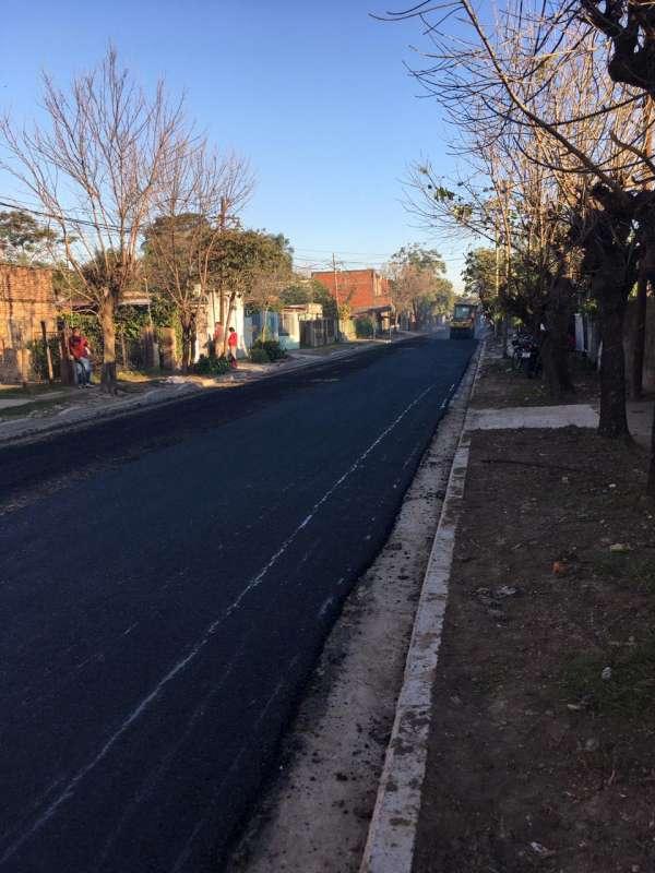 La Provincia intensifica su plan de Pavimentación y trabaja en calle Lavalle y varias del barrio Progreso