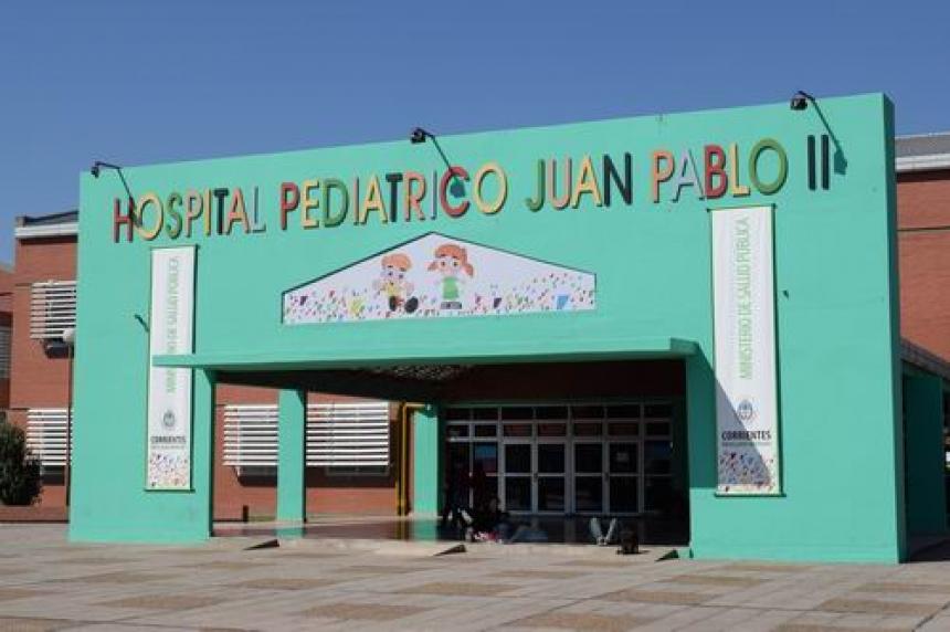 La atención está garantizada en el hospital Pediátrico