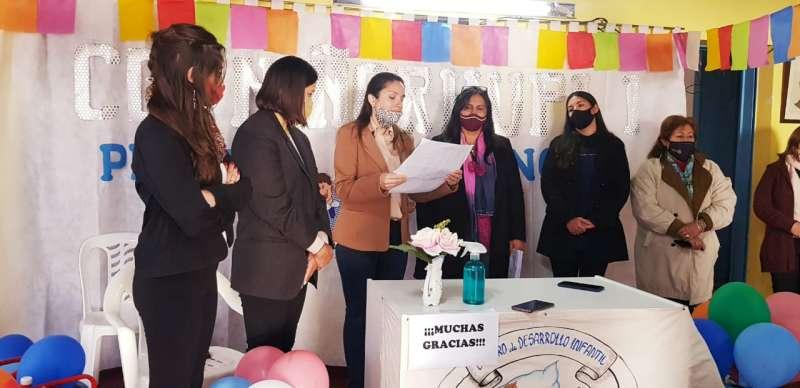 Desarrollo Social entregó mobiliarios y elementos didácticos a CDI de Mercedes y Curuzú Cuatiá