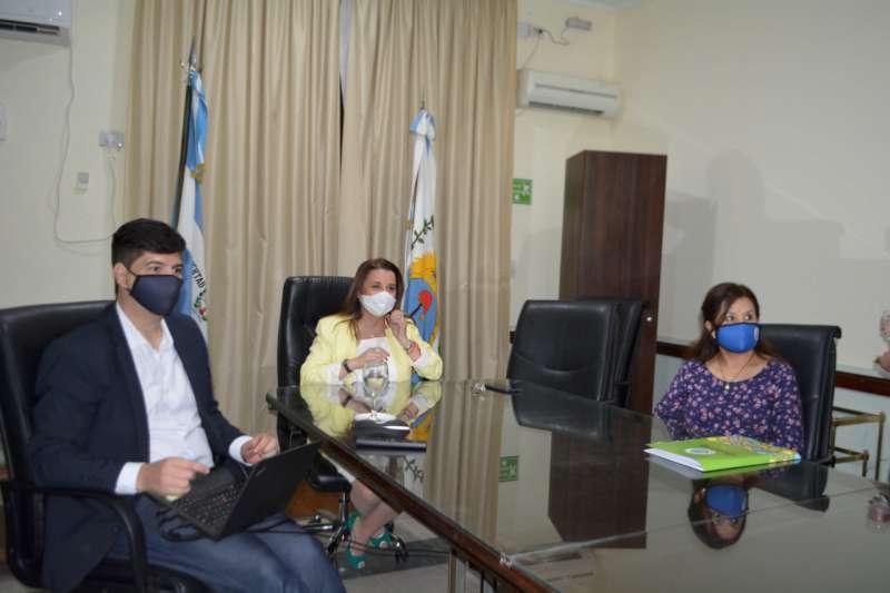 La ministra Benítez y sus pares de Misiones, Mendoza y Córdoba debatieron sobre la educación en tiempos de pandemia