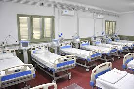 Parte médico de internados en el Hospital de Campaña