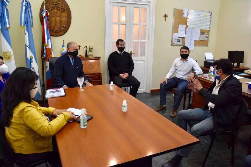 La Municipalidad brindó detalles a la Aoem de su protocolo ante casos de Covid-19 en el personal