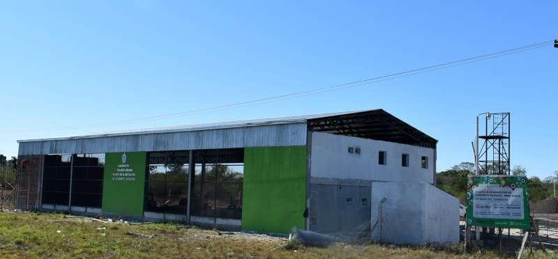 Dotan de mayor infraestructura a la planta provincial  de Elaboración de Concreto Asfáltico