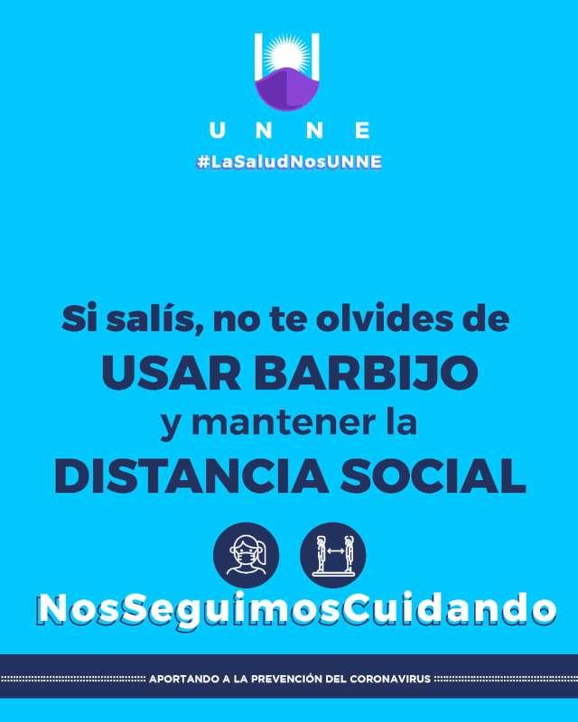"""La UNNE lanza una campaña de sensibilización de cara a la """"nueva normalidad"""""""