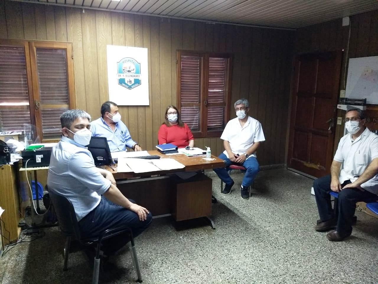 Salud coordinó acciones preventivas de Covid-19 en Ituzaingó