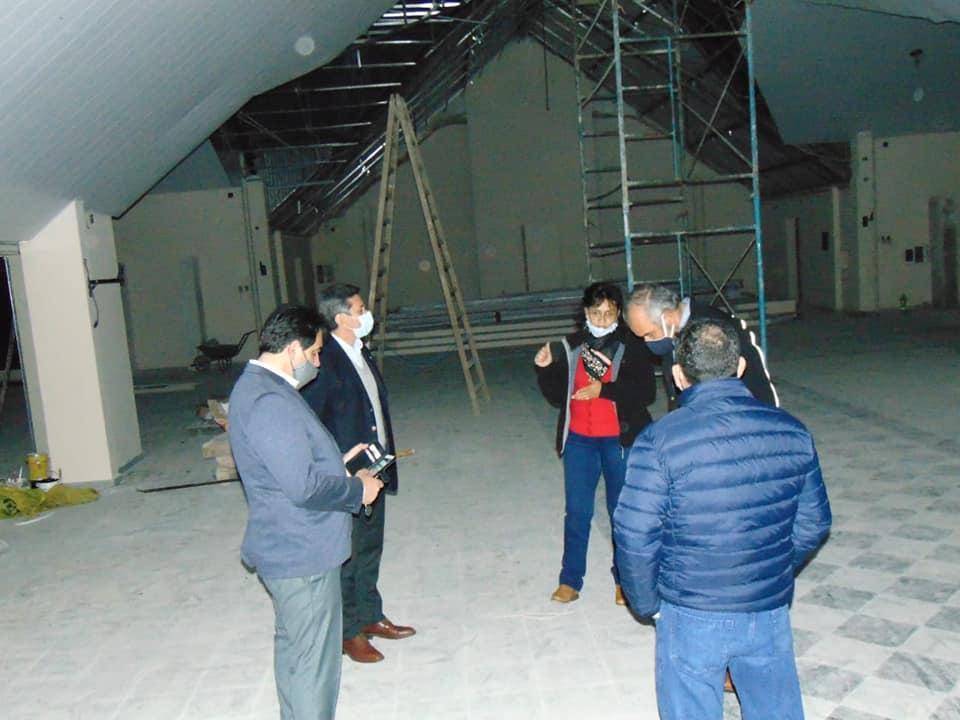 El Ministro Polich supervisó el avance de obras provinciales en Santa Rosa