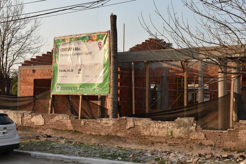 Avanza la construcción del nuevo edificio de la comisaría Sexta Urbana