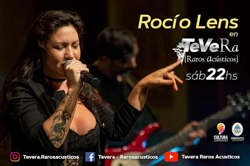 En el mes del rock, Rocío Lens