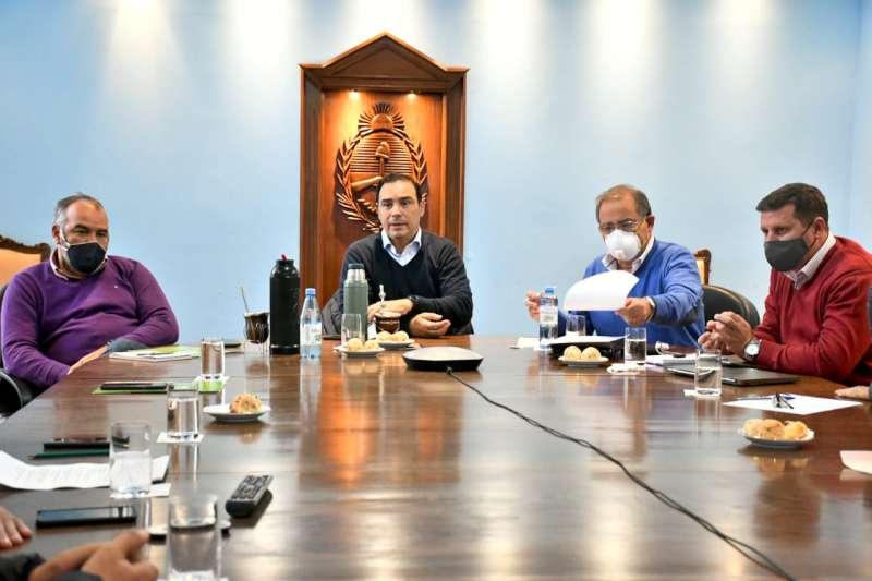 El Gobernador analizó Plan de Infraestructura junto al intendente de Capital