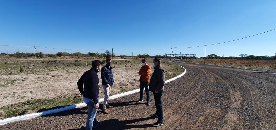 Provincia y Municipio coordinan tareas para atraer inversiones al parque industrial Santa Catalina