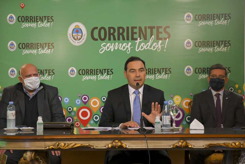 """Valdés. """"La situación es difícil y compleja, la pandemia se está extendiendo por Corrientes Capital"""""""