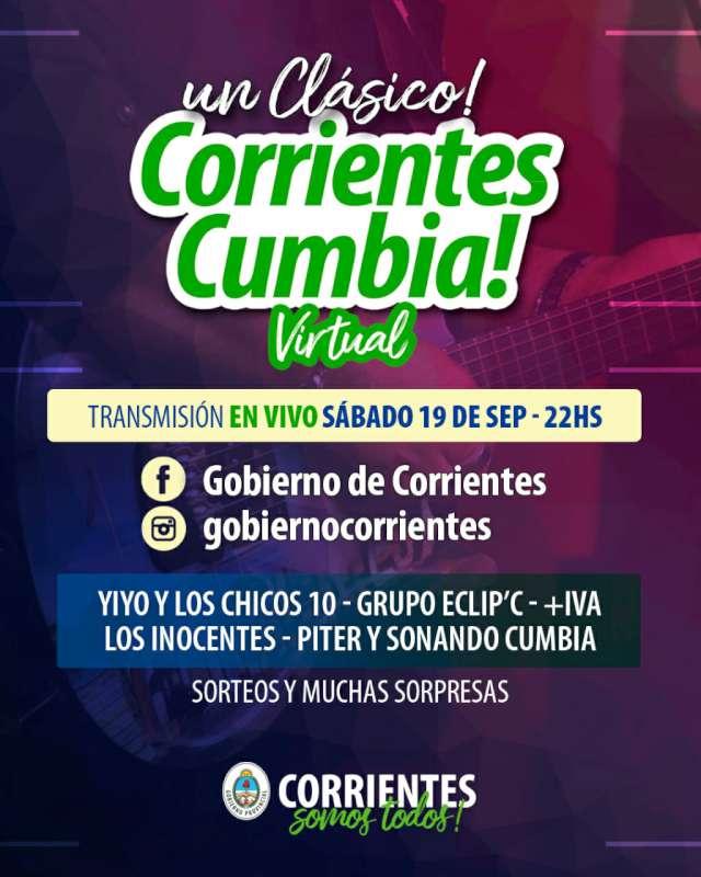 Corrientes Cumbia Virtual para quedarse en casa con Yiyo y Eclip´c