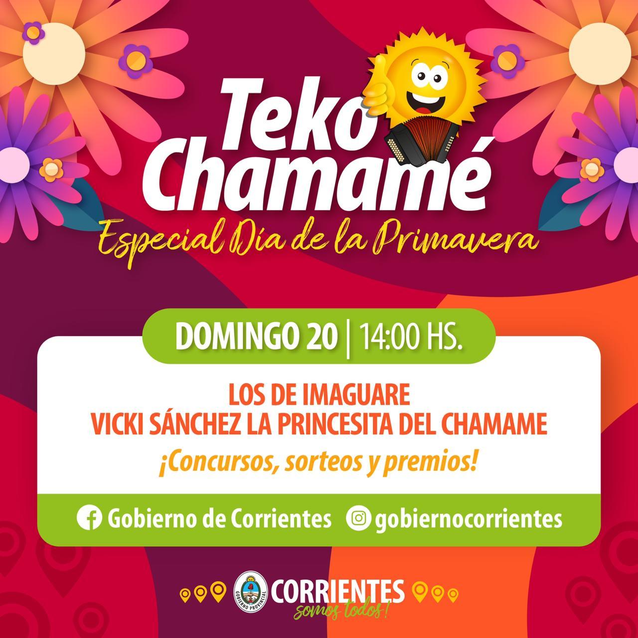 Música, premios y sorpresas nuevamente a través de Teko Chamamé