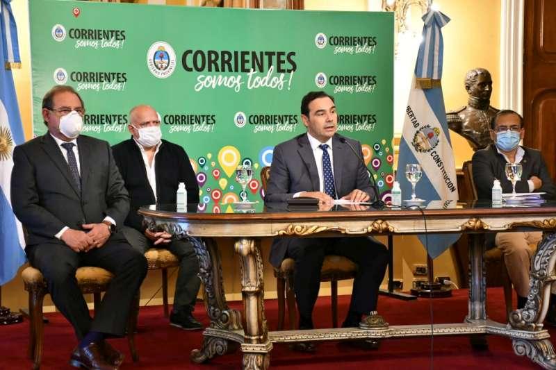 Valdés ratificó una movilidad controlada en Corrientes