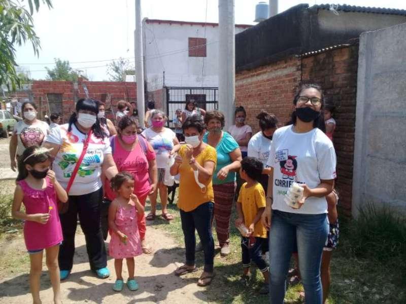 """""""La Prevención la Hacemos entre Todos"""" llevó asistencia a los barrios La Olla y 17 de Agosto"""