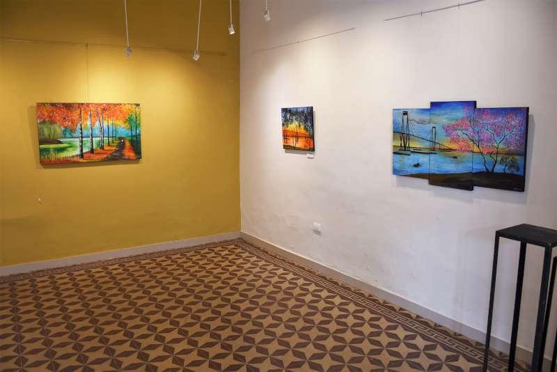 """""""Colores del alma"""" se presenta en la sala Adolfo Mors"""