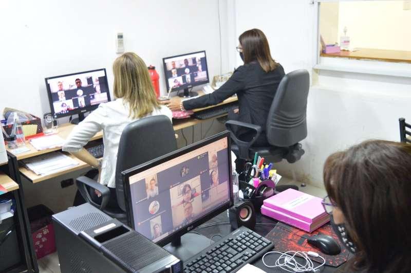 Autoridades, ediles y personal del HCD participaron de la primera capacitación virtual sobre la Ley Micaela