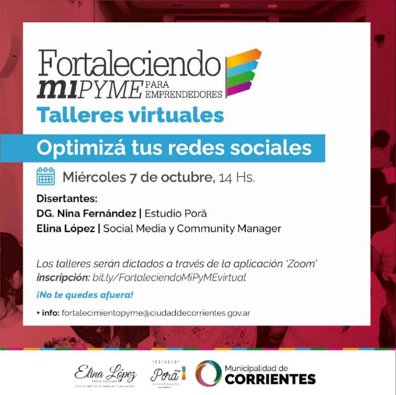 La Municipalidad organiza un taller sobre la importancia de las redes sociales en la venta de emprendimientos