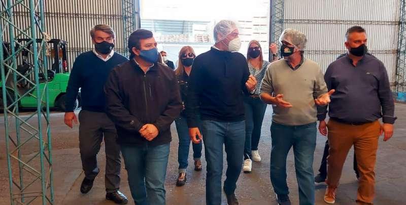 Acompañamiento provincial a proyectos de inversión de la Cooperativa San Francisco