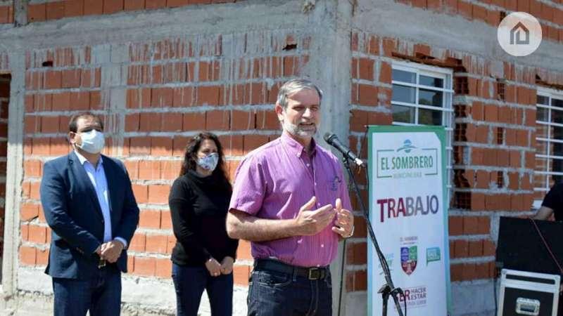 Avanzan las obras de viviendas y se fortalece el trabajo con las familias de toda la provincia