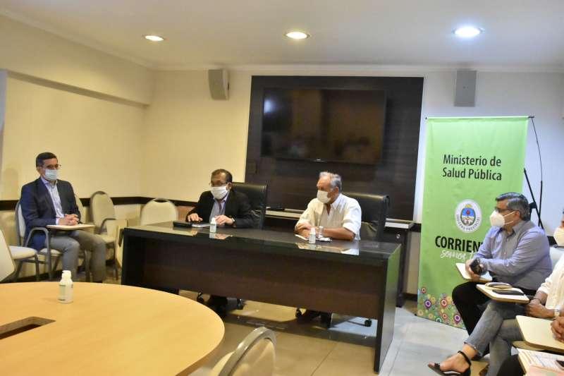 Cardozo encabezó reunión del Comité de Crisis Ampliado