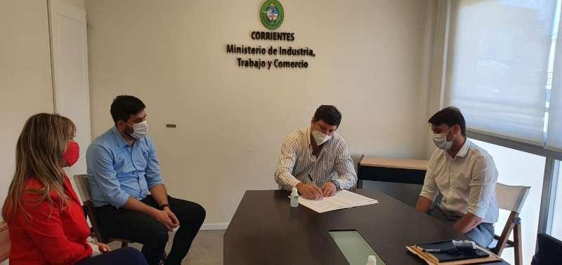 Mocoretá se sumó a la Red de Parques Industriales de Corrientes