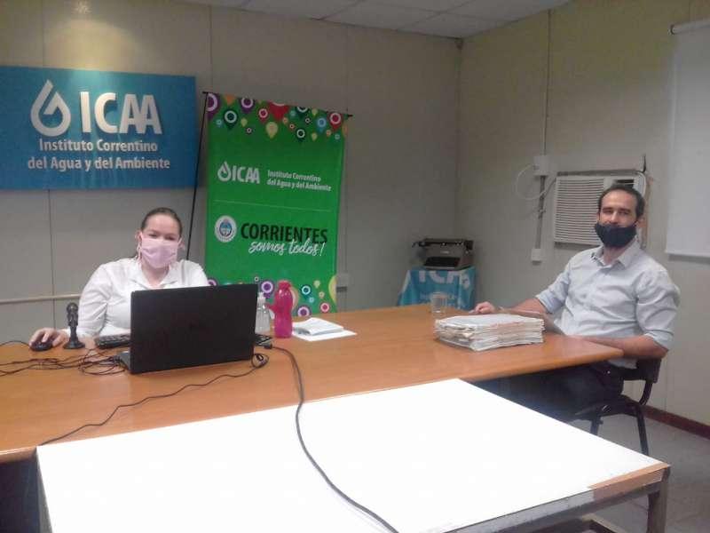 Reunión Virtual del ICAA y Regantes Río Corriente