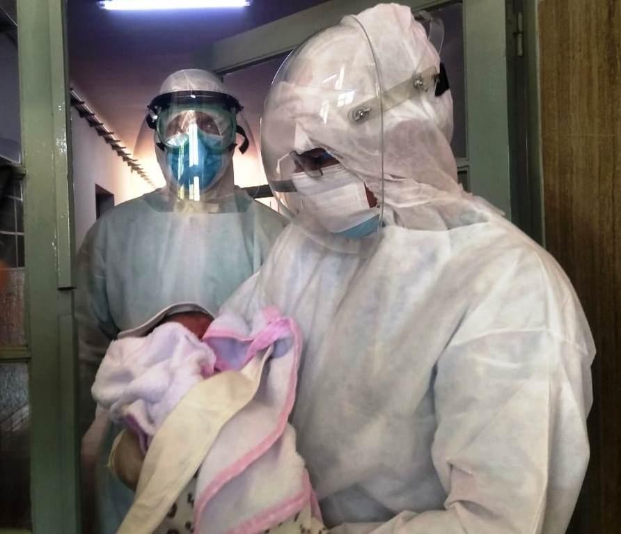 Se produjeron dos nacimientos en el Hospital de Campaña