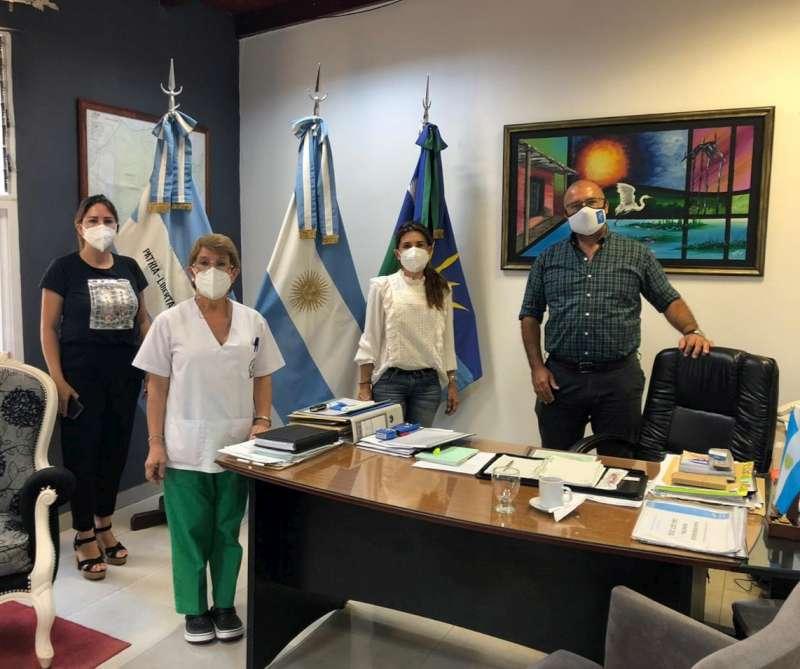 Salud coordinó estrategias de prevención de Covid-19 en el interior