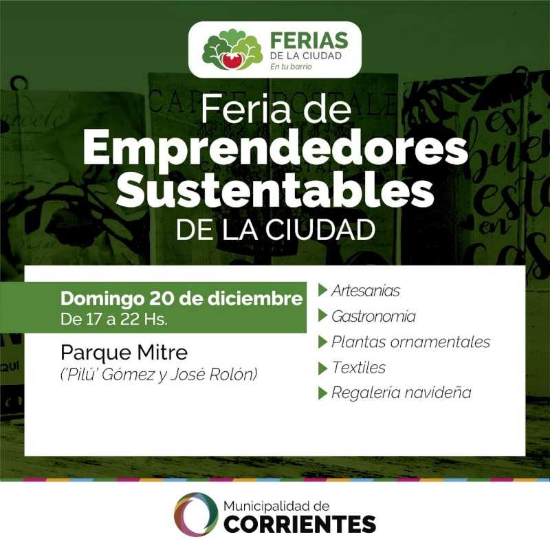 Tercer Feria de Emprendedores Sustentables de la ciudad