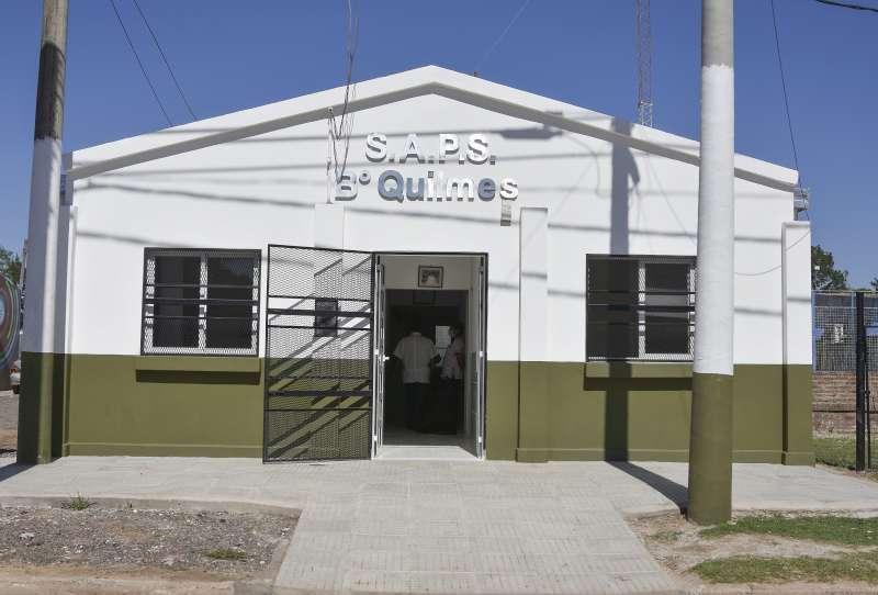 SAPS del barrio Quilmes: a nuevo y al servicio de los vecinos