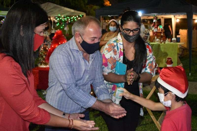 El ministro Gaya acompañó el cierre del Concurso Navideño