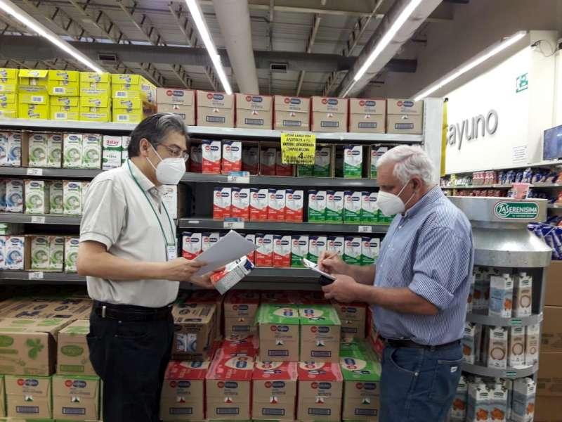 Verifican cumplimiento de los Precios Cuidados y disponibilidad de la canasta navideña