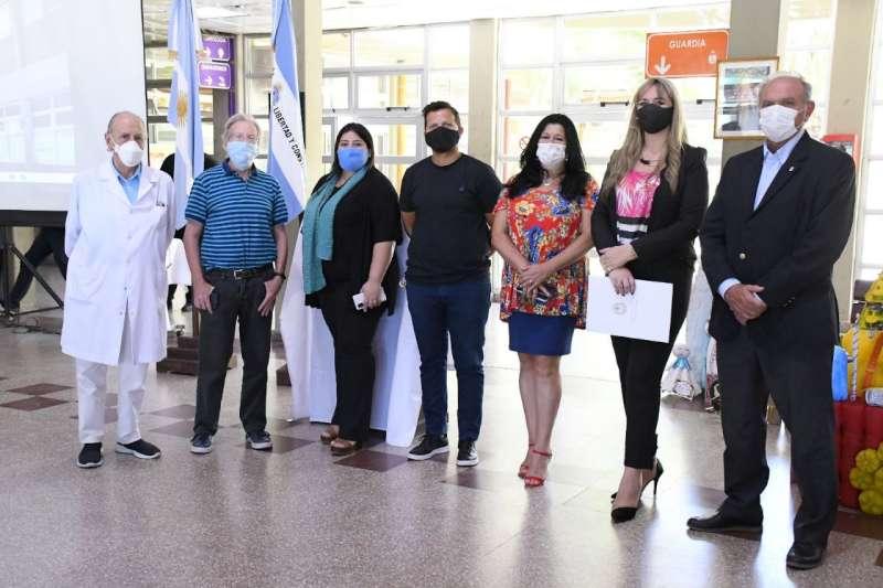Con un emotivo acto, el Hospital Pediátrico de Corrientes celebró sus 23 años