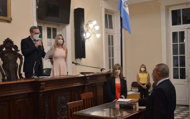 Alfredo Vallejos fue reelegido como presidente del Concejo Deliberante