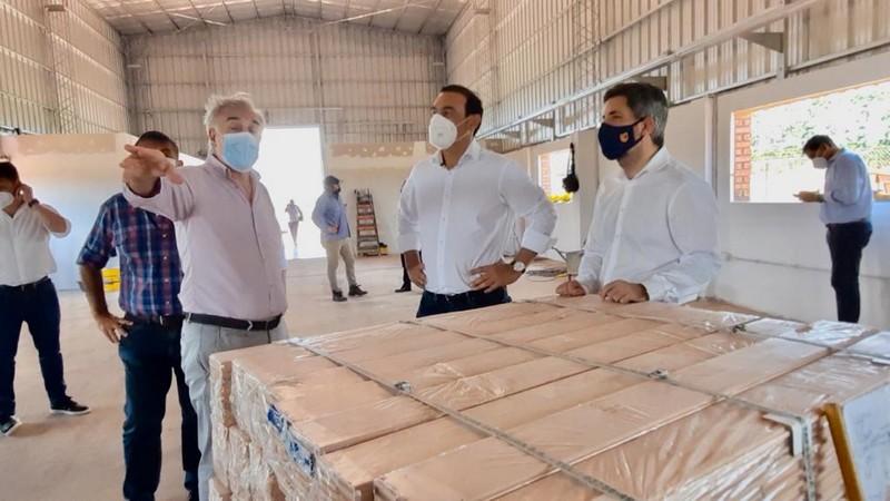 La Provincia avanza con la construcción del Centro Tecnológico de la Madera en Virasoro