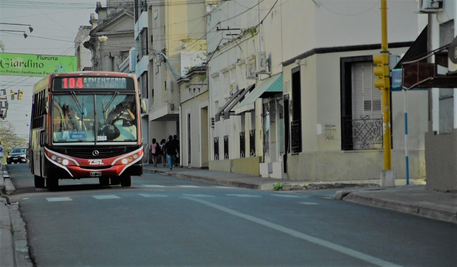 Desde mañana regirá la nueva tarifa del transporte urbano de pasajeros