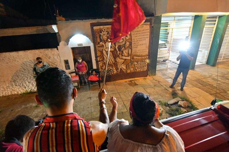 Con un festival virtual y una caravana, Corrientes mantuvo viva la fiesta de San Baltasar