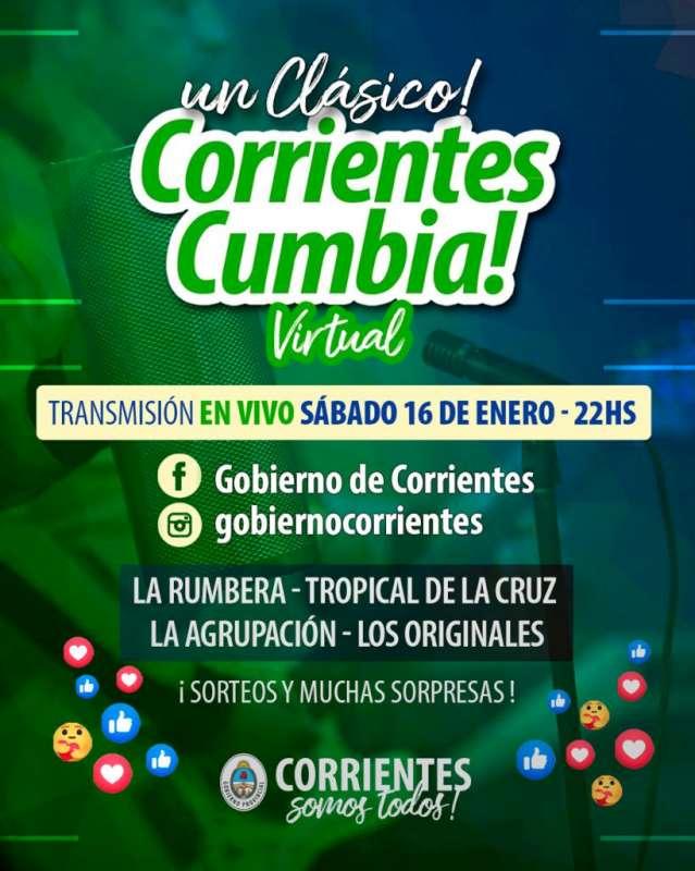 Las mejores canciones sonarán este fin de semana en el Corrientes Cumbia y el Teko Chamamé