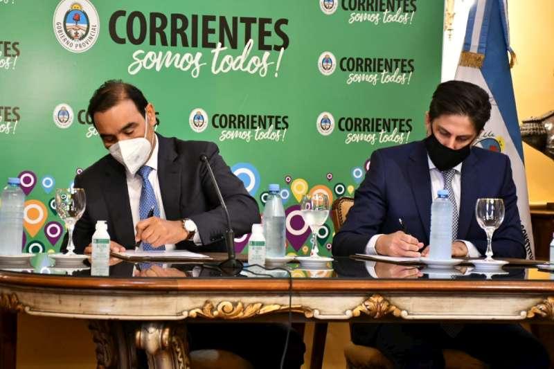 Valdés y Trotta garantizaron «trabajo conjunto» para el «regreso seguro» a las aulas en Corrientes