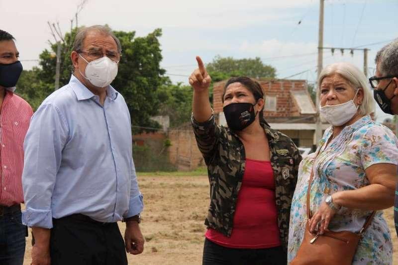 Desarrollo Social junto al Intendente Tassano visitaron el Comedor Mitai Ladrillero