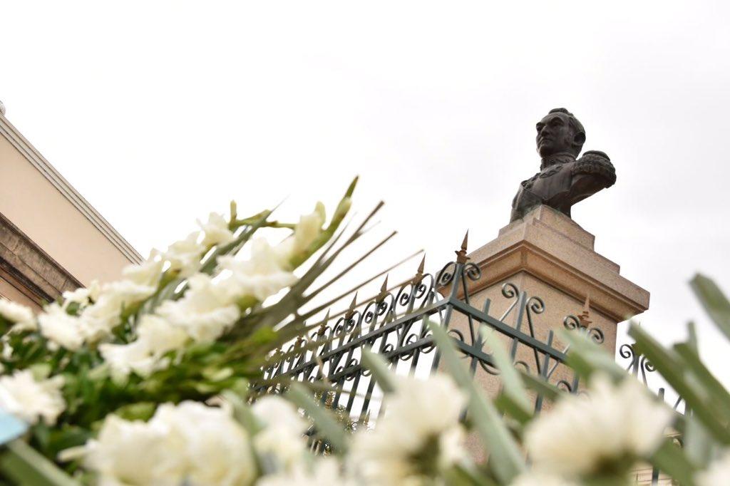 Tassano encabezará el acto en conmemoración del 243º aniversario del natalicio de San Martín