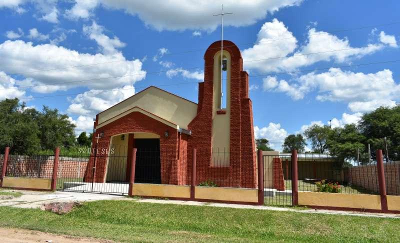 """La Provincia concluyó la ampliación de la capilla """"Sagrado Corazón"""" de Pueblo Libertador"""