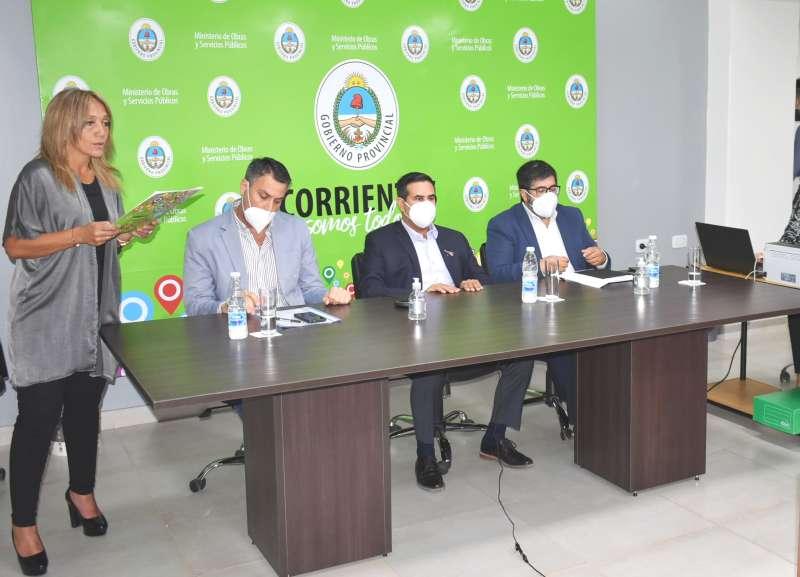 """Licitaron la obra «Nueva Estación Terminal de Ómnibus"""" de la ciudad de Curuzú Cuatiá"""