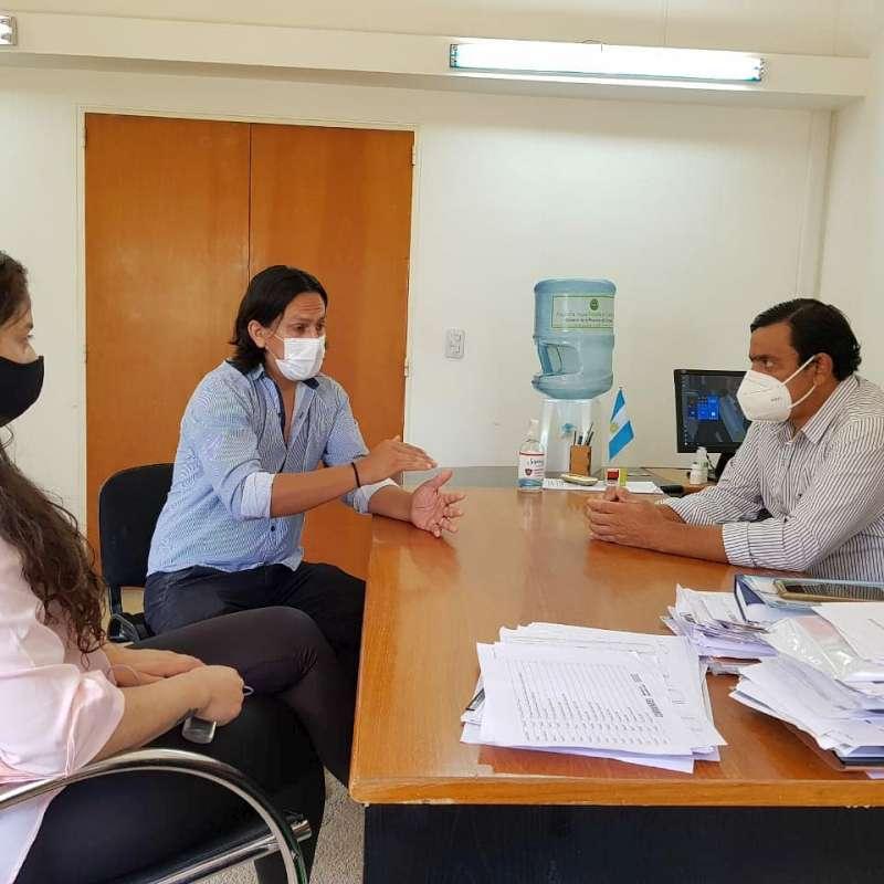 Desarrollo Social recibió a referentes de Tabay