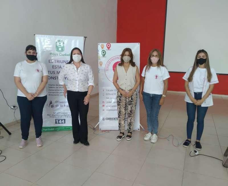 El Consejo de la Mujer visitó tres localidades del Interior